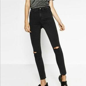 Zara Trafaluc high waisted jeans